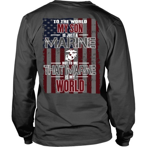 T-shirt - Marine Son Is My World