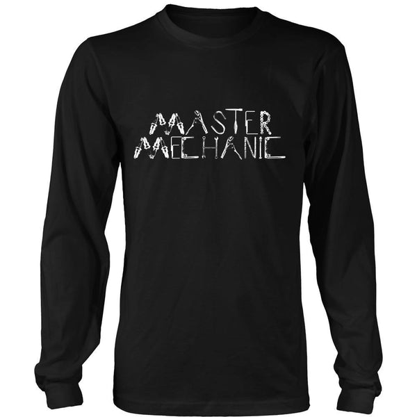 T-shirt - Mechanic - Master Mechanic - Front Design