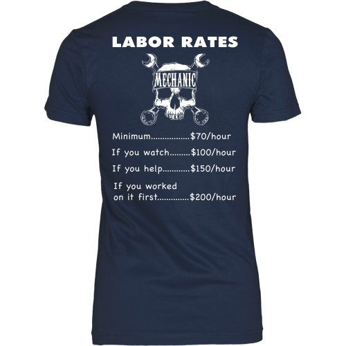 T-shirt - Mechanic Prices Tee-Back