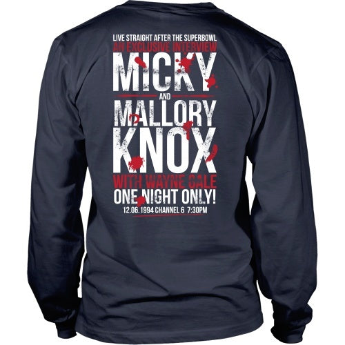 T-shirt - Mickey And Mallory Tee