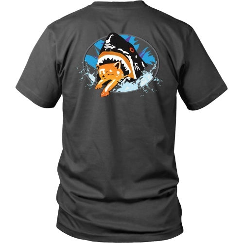 T-shirt - Pineapple Express - Shark Cat Tee - Back Design