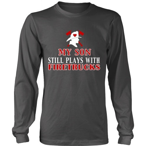 T-shirt - Plays With Firetrucks Tee