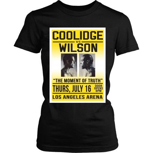 T-shirt - Pulp Fiction - Coolidge Vs Wilson - Front Design