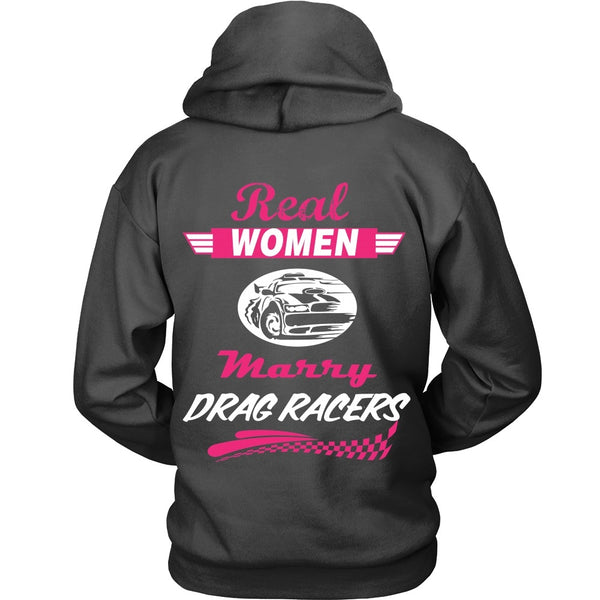 T-shirt - Real Women Marry Drag Racers - Back Design