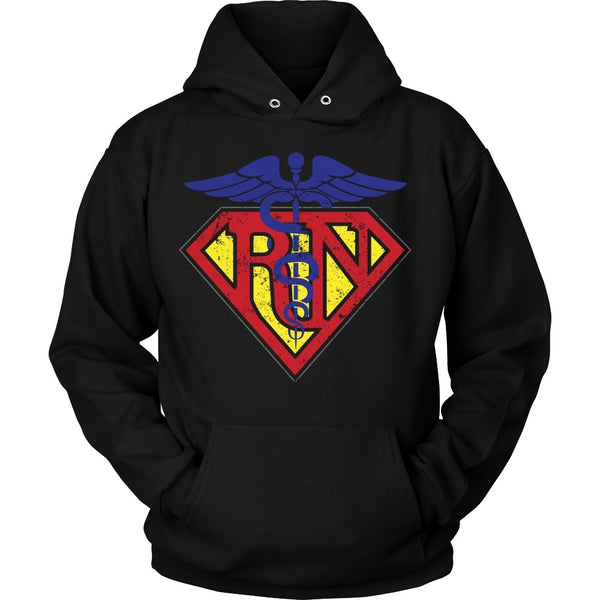 T-shirt - Registered Nurse Superman - Front Design