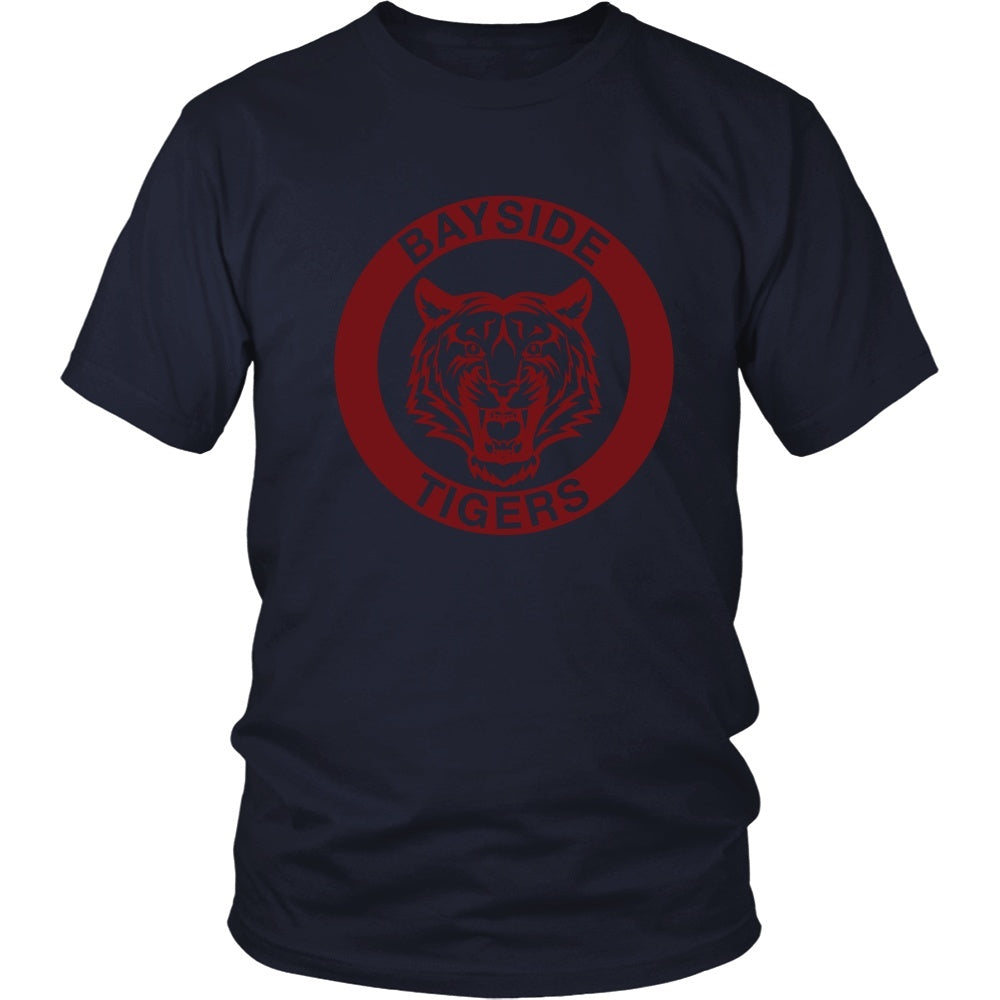T-shirt - Saved By The Bell - Bayside Tigers - Front