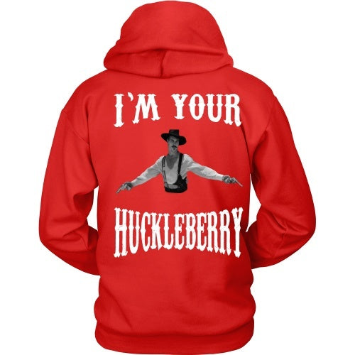 T-shirt - Say When Front / Huckleberry Back