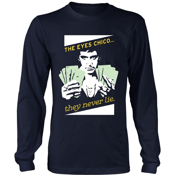 T-shirt - Scarface -The Eyes Chico - Version A - Front Version