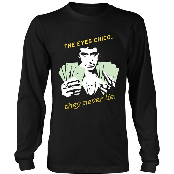 T-shirt - Scarface -The Eyes Chico - Version B - Front Version