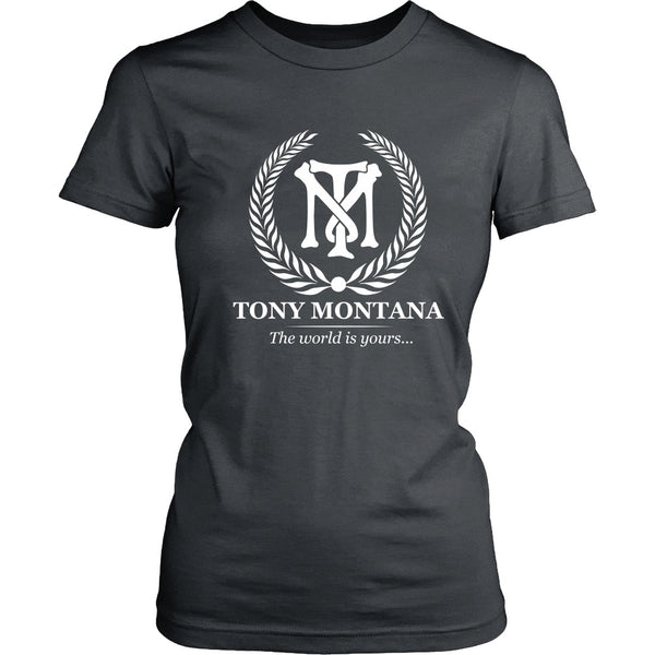T-shirt - Scarface - Tony Montana (White) - Front Design