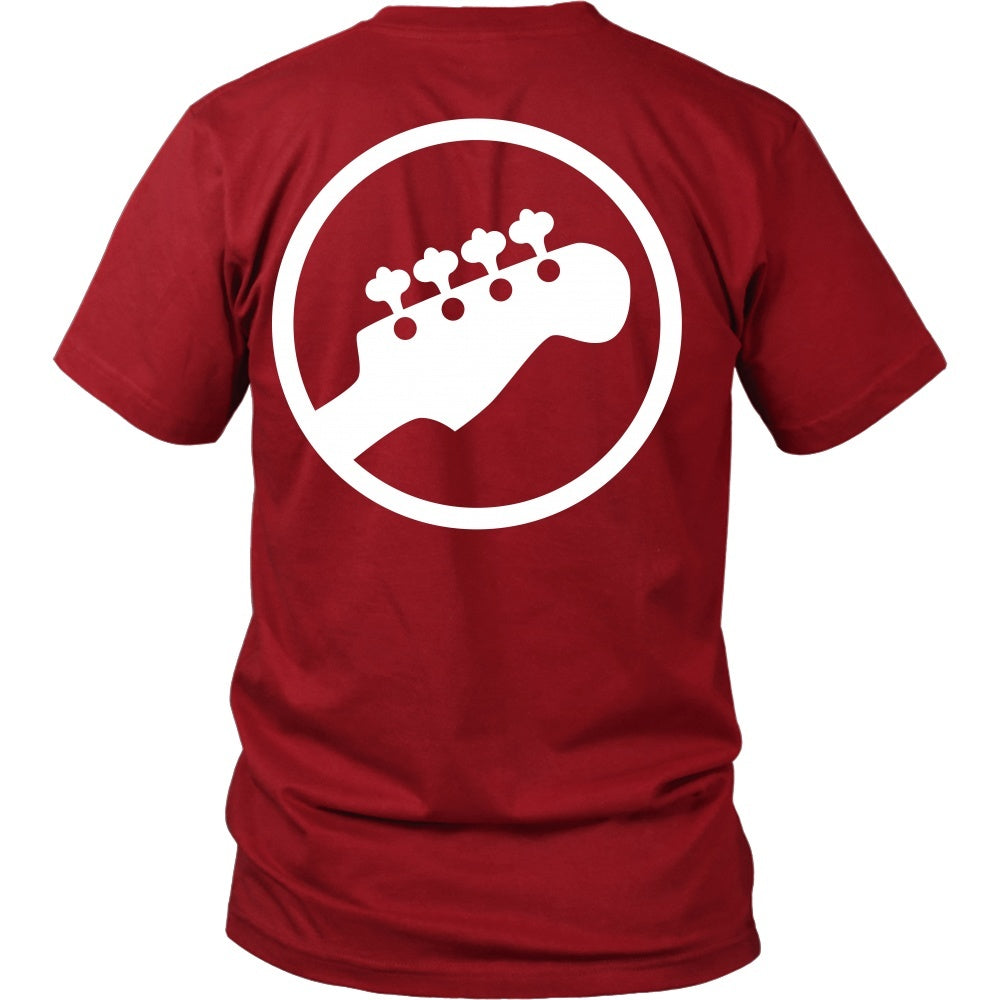 T-shirt - Scott Pilgrim - Bass Guitar - Back Design