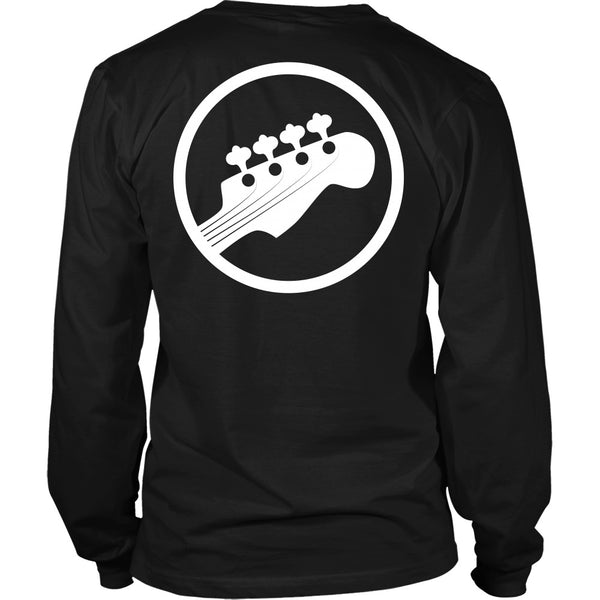 T-shirt - Scott Pilgrim - Bass Guitar (With Strings) - Back Design