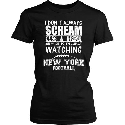 T-shirt - Scream And Cuss Fan - Front