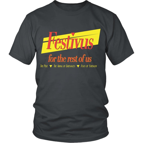 T-shirt - Seinfeld - Festivus For The Rest Of Us - Front Design