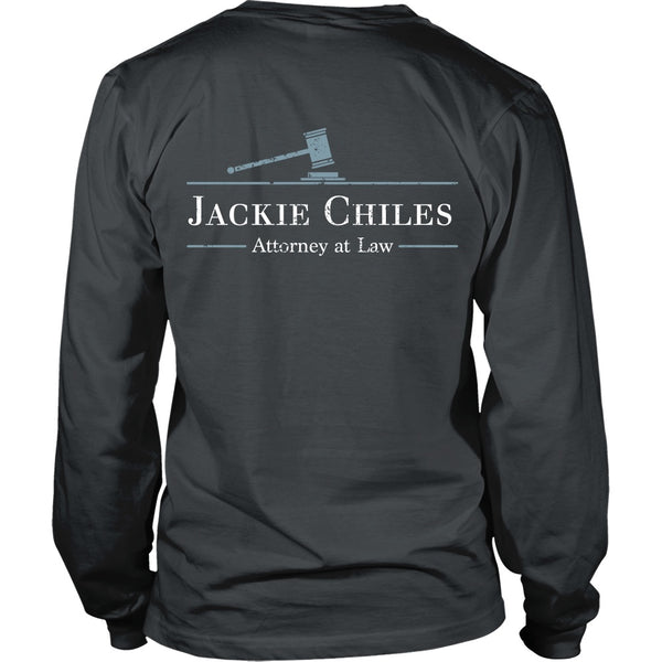 T-shirt - Seinfeld - Jackie Chiles Tee - Back Design