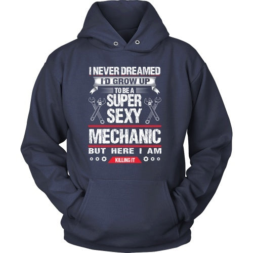T-shirt - Sexy Mechanic, Killing It - Front Design
