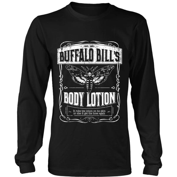 T-shirt - Silence Of The Lambs - Buffalo Bill Lotion - Front Design