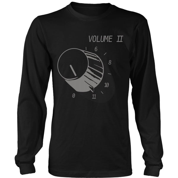 T-shirt - Spinal Tap - Volume 11- Front Design