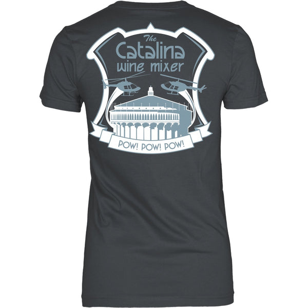 T-shirt - Stepbrothers - Catalin Wine Mixer- Back Design