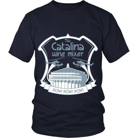 T-shirt - Stepbrothers - Catalina Wine Mixer- Front Design - DDA