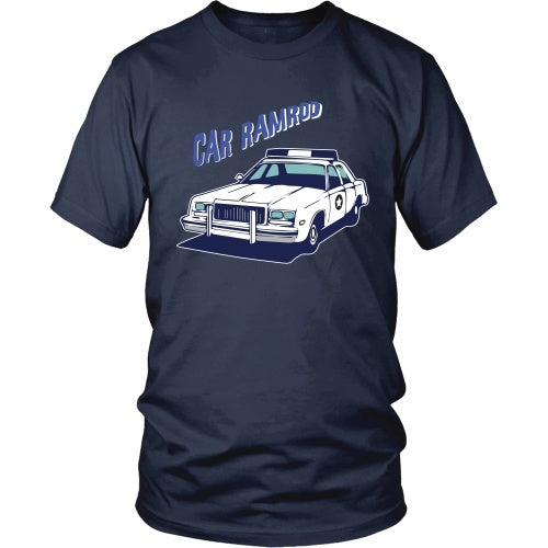 T-shirt - Super Troopers - Car Ramrod - Front Design