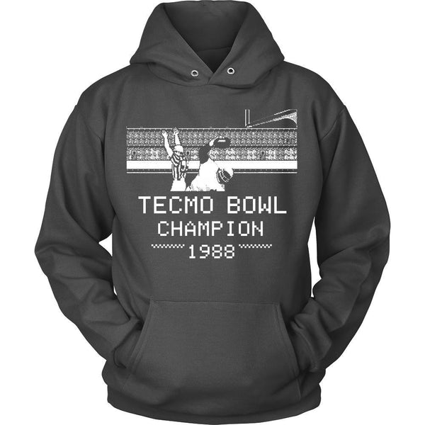 T-shirt - Tecmo Bowl - Tecmo Bowl Champion Tee - Front Design