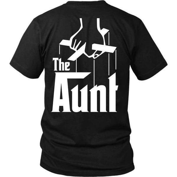 T-shirt - The Aunt - Godfather Inspired - Back Design