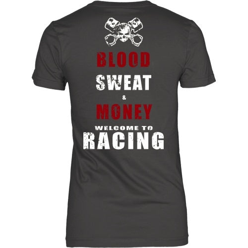 T-shirt - The Cost Of Racing