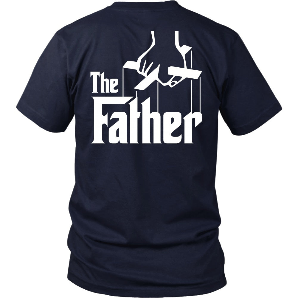 T-shirt - The Father - Godfather Inspired - Back Design