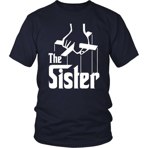 T-shirt - The Sister - Godfather Inspired - Front Design