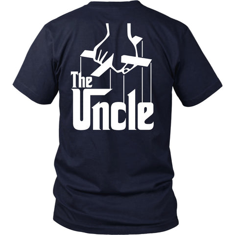 T-shirt - The Uncle - Godfather Inspired - Back Design
