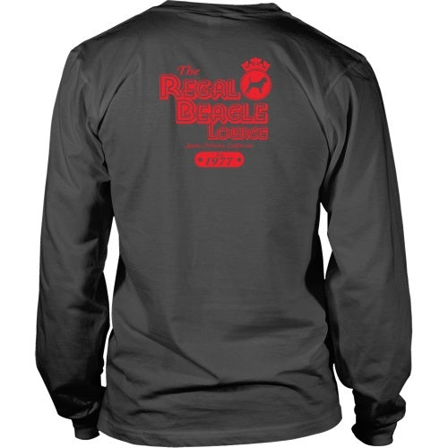 T-shirt - Three's Company - The Regal Beagle Red - Back Design