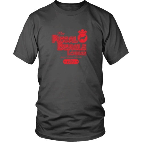 T-shirt - Three's Company - The Regal Beagle Red - Front Design