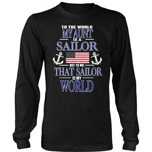 T-shirt - To The World My Aunt Is A Sailor