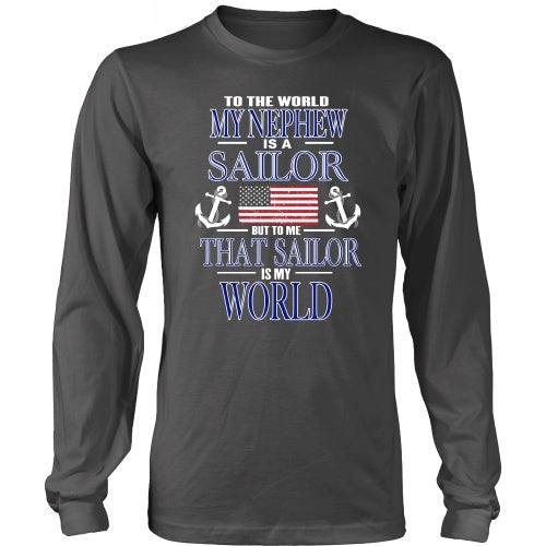 T-shirt - To The World My Nephew Is A Sailor