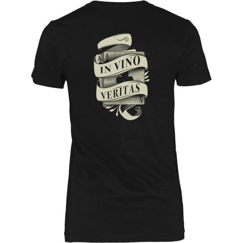 T-shirt - Tombstone - In Vino Veritas Tee - Back Design