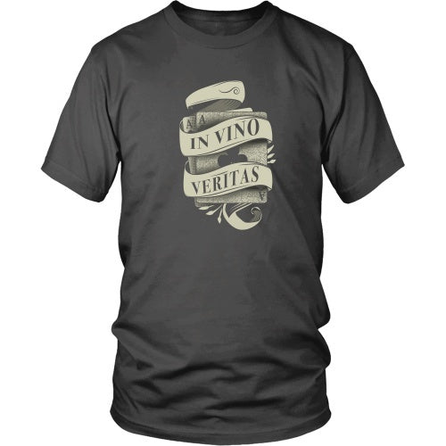 T-shirt - Tombstone - In Vino Veritas Tee - Front Design