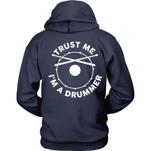 T-shirt - Trust Me I'm A Drummer Band - Back