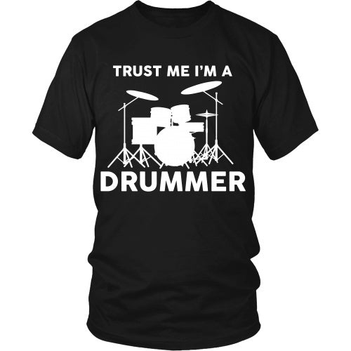 T-shirt - Trust Me I'm A Drummer - Front