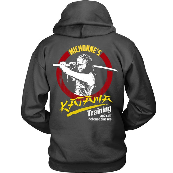 T-shirt - Walking Dead - Michonne's Katana Class - Back Design
