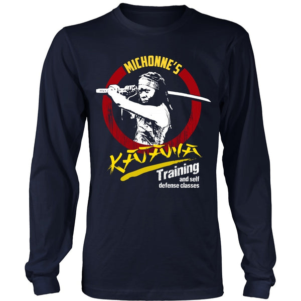 T-shirt - Walking Dead - Michonne's Katana Class - Front Design