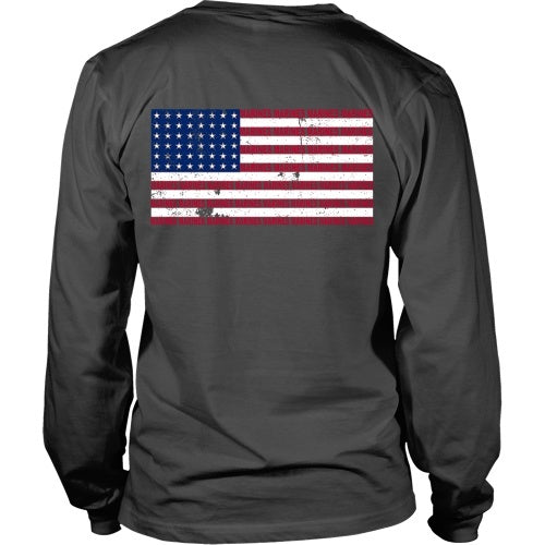T-shirtN - Marine Flag - Back