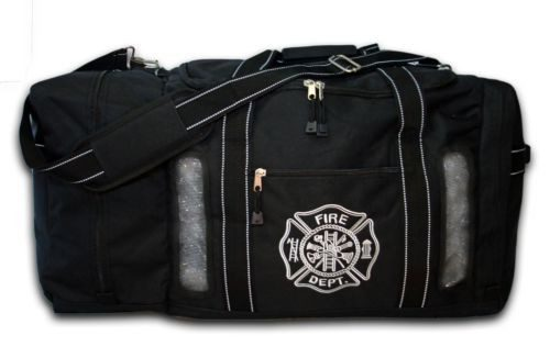 ULTIMATE QUAD VENT FIREFIGHTER MESH TURNOUT STEP IN GEAR BAG