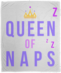 Queen of Naps Color Cozy Plush Fleece Blanket - 50x60