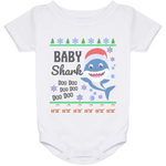 Ugly Christmas Onesie 24 Month - Baby Shark - 01 Blue