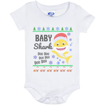 Ugly Christmas Onesie 6 Month - Baby Shark - 01 Yellow