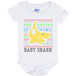 Ugly Christmas Onesie 6 Month - Baby Shark - 02 Yellow
