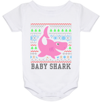 Ugly Christmas Onesie 24 Month - Baby Shark - 02 Pink