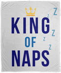 King of Naps Color Cozy Plush Fleece Blanket - 50x60