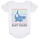 Ugly Christmas Onesie 24 Month - Baby Shark - 02 Blue